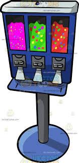 Vending Machine Clip Art Unique A Candy Vending Machine Clipart By Vector Toons
