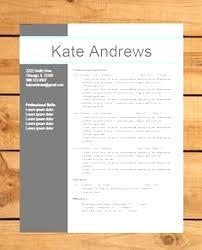Funky Modern Resume Template Word Inspiration Documentation