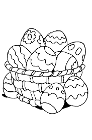 Coloriage Paques Oeufs 1 A 10 Colorier Allofamille