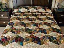 Amish Country Ohio Quilt Shops Amish Country Quilts From Lancaster ... & Amish Country Ohio Quilt Shops Amish Country Quilts From Lancaster Tumbling  Blocks 9 Patch This Pattern Adamdwight.com