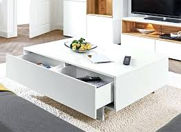 modern white coffee table modern white coffee table drawers colette modern round high gloss white coffee