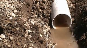 FRENCH DRAIN How Much It Does Cost YouTube - Exterior drain pipe