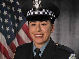 Officer Ella French wore the insignia ...