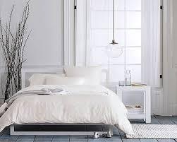 Scandinavia Bedroom Furniture Decoration Cozy Scandinavian Bedroom In White Schemes With