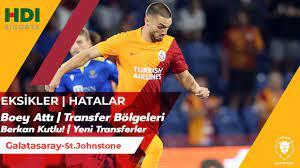 Galatasaray-St.Johnstone | Berkan ve Boey Performansı | Eksikler!! |  Transfer | Fatih Terim Açıklama - YouTube