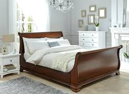wooden sleigh bed. Wonderful Sleigh Terrific Wooden Sleigh Bed On Walnut Frame Dreams Regarding Wood Decor 1  King Size Exquisite At Inside Wooden Sleigh Bed B