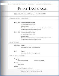 Free Resume Layout Fascinating Resume Free Format Free Resume Layout As Free Resume Samples