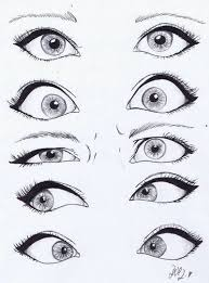 eyes drawings looking at drawings of eyes i like the cartoon style in which these