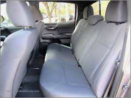 toyota tacoma car seat covers lovely 2017 used toyota ta a trd sport double cab 5