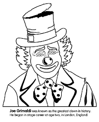 Small Picture Clown Coloring Page crayolacom