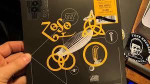 Led Zeppelins Record Store Day Single Entered The Uk Vinyl
