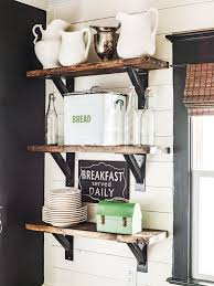 Decorating Kitchen Shelves 18 Vintage Decorating Ideas From A 1934 Farmhouse Open Shelving