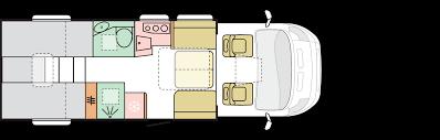 dl layouts 670 dl coral motorhomes adria mobil