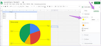 How To Edit A Pie Chart In Google Docs How To Put Pie Chart In Google Docs And 9 Ways To Customize It