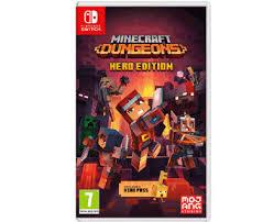 Купить <b>Minecraft</b> Dungeons Hero Edition (<b>Nintendo switch</b>) в ...