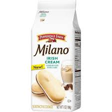 Jacobs is the number one biscuit manufacturer on the irish market for assorted biscuits. Pepperidge Farm Milano Irish Cream Cookies 7oz 15ct Target
