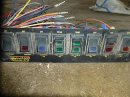 8 circuit wiring harness annavernon for painless wiring 8 circuit dash mount switch panel and