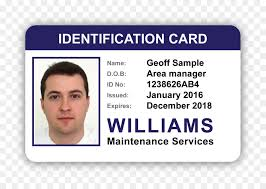 Identification Card Samples Badge Template