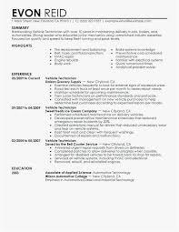 29 Diesel Mechanic Resume Free Download Best Resume Templates