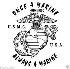 Once A Marine Always A Marine Once A Marine Always A Marine Bumper Sticker Tool Box