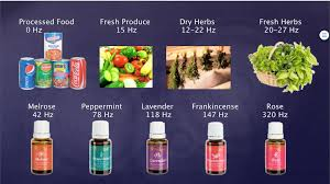 Food Vibrational Frequency Chart Vibrational Frequency Harmony Vitality