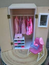 diy barbie doll furniture. barbie doll house pink wardrobe vignette room furniture u0026 accessories bedroom closet clothes 4000 diy o
