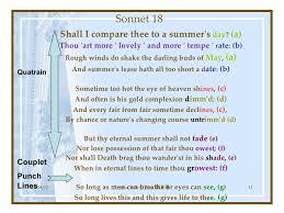 essay questions sonnet