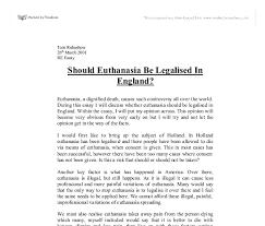 euthanasia essay euthanasia jpg cb com