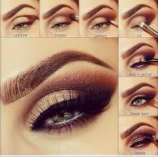 perfect winter smokey eyes