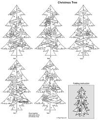 Christmas Tree Cut Out Free Printable 3d Paper Model Template