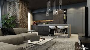 design a chic modern space around a brick accent wall old brick wall red brick wall