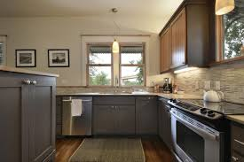 Grey Maple Kitchen Cabinets Gray Kitchen Walls Maple Cabinets Quicuacom