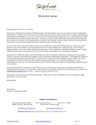 Welcome Letters Backgroundwelcome Letter Business Letter Sample