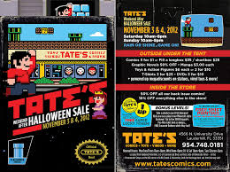 halloween sale flyer tate s after halloween sale flyer 8 bit illustration by dr flickr