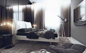 Bloombety Cool Gray Bachelor Pad Bedroom Ideas