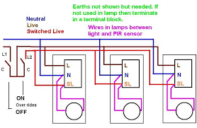 wiring diagram for multiple lights on one switch images way sensors in parallel diagram wiring