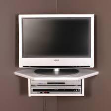 tv corner wall shelf best of creative connectors corner floating wall shelf white