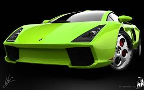 green car wallpaper hd. Modren Wallpaper Lamborghini Green Concept Wallpaper Throughout Car Hd A
