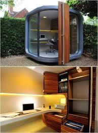 a cool outdoor personal office pod backyard office pod cuts