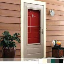 storm doors exterior doors the home depot front door storm door combo front door screen door