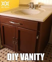 Building Bathroom Vanity Diy Bathroom Vanity Save Money By Making Your Own Cabinets