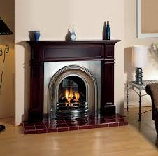 stovax classical arches insert fireplace fully polished also shown grosvenor dark cherry mantel