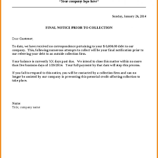 collection letter to client best business template within collection letter to client 600x600