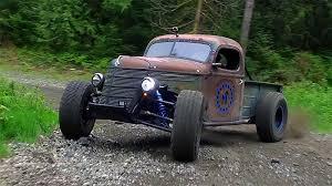 the world s first rat rod trophy truck horsepower monster