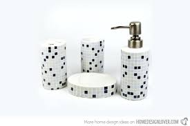 modern bathroom accessories sets. Unique Mosaic Bathroom Accessories And Smart Ideas 5 Sets Trendy Modern .