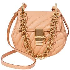 chloe mini drew bijou quilted leather bag blushy pink item no chc18us107a04 266