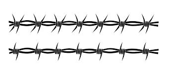 Barbed Wire Embroidery Design Barbed Wire Circle Clipart Clipart Kid Barbed Wire