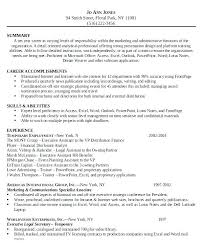 Executive Assistant Resume Examples Inspiration Resume Summary Examples Legal Together With Assistant Resume