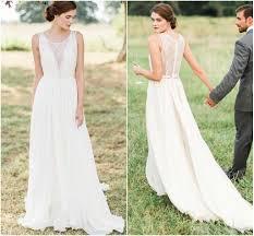 flowy wedding dresses. Discount Greek Wedding Dress Sheer Lace Round Neckline A Line Pleats
