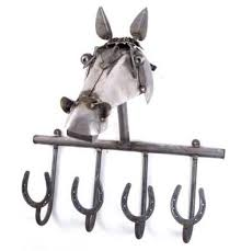 Horse Coat Rack Lucky horse shoe coat rack Horses in the House Pinterest 44
